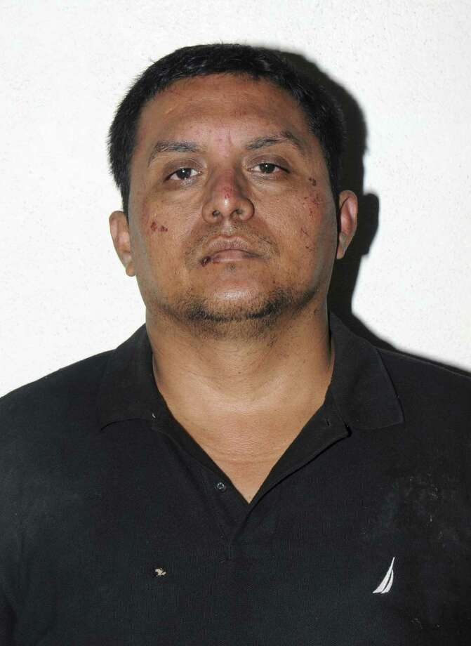Miguel Treviño Morales is wanted in Texas on charges of ordering five killings in Laredo. Photo: MEXICAN NAVY SEMAR /New York Times / MEXICAN NAVY SEMAR
