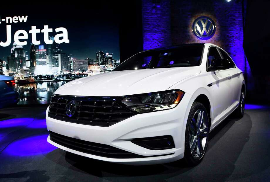 The 2019 Volkswagen Jetta was introduced over the weekend in Detroit. Photo: Jose Juarez, FRE / FR171038 AP