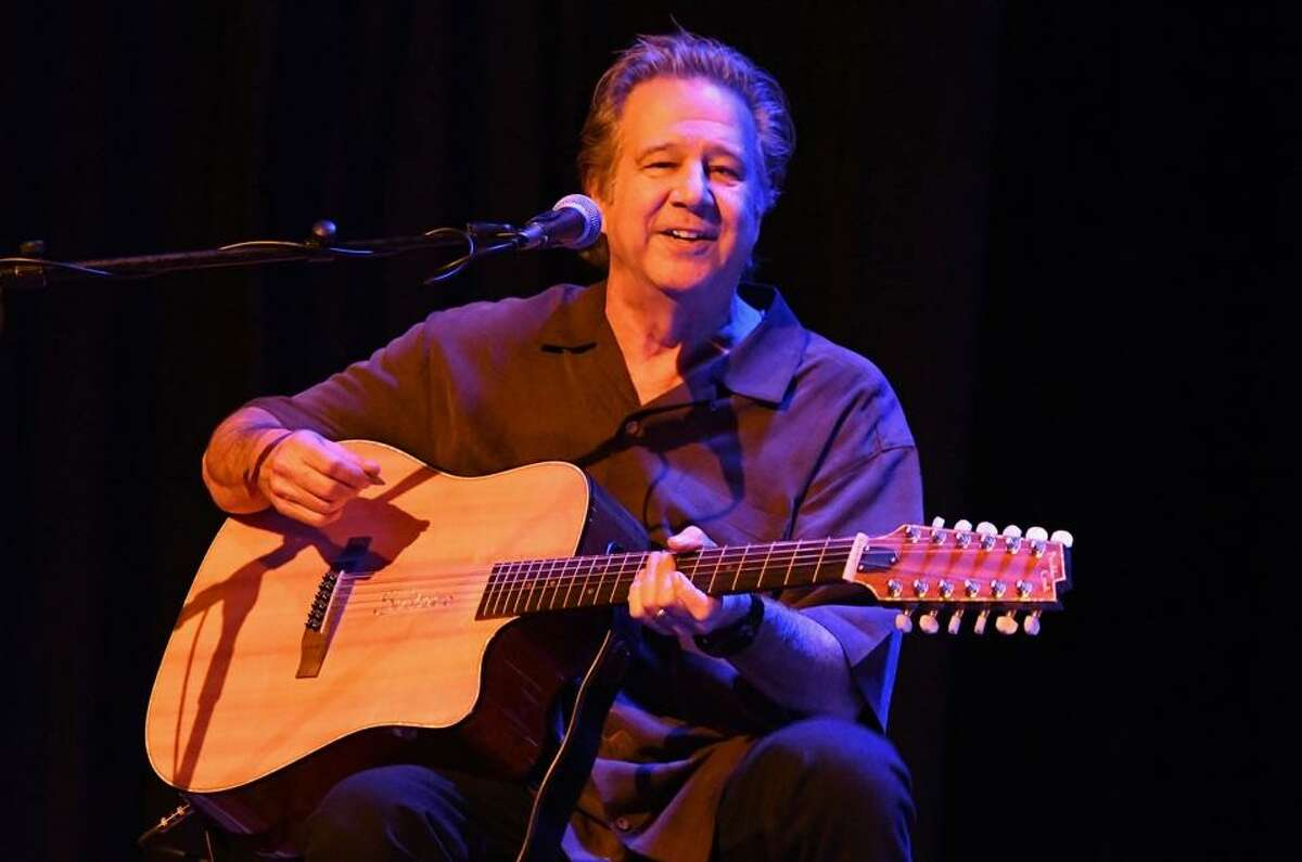 Singer and songwriter Greg Kihn is shown performing on stage at the Infinity Music Hall in Norfolk on Jan. 12. Greg became an 80s music icon, with his two catchy, chart-topping hits, ?