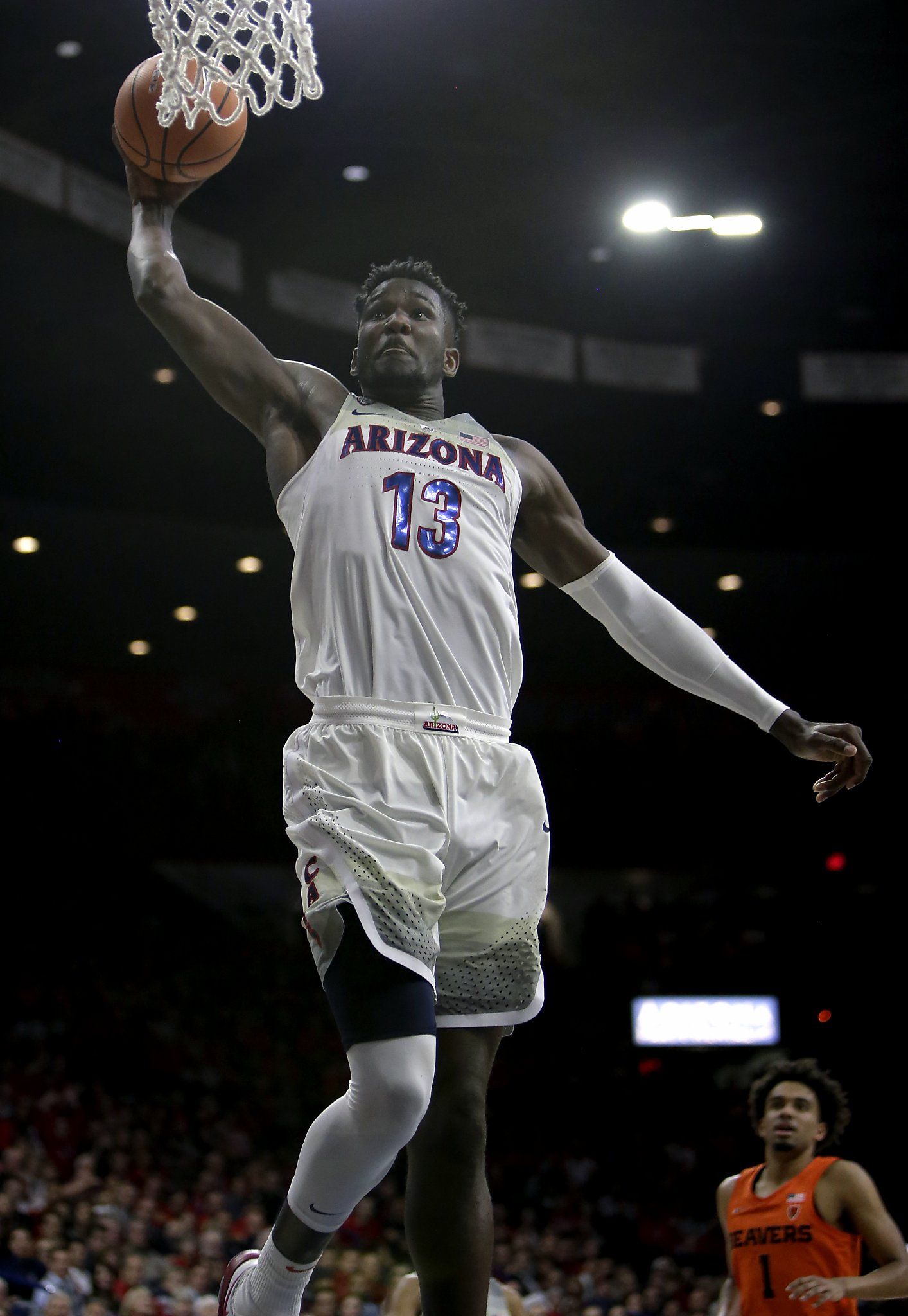 super popular 3b3bf 56765 Arizona's Deandre Ayton will be a load for Cal to handle ...