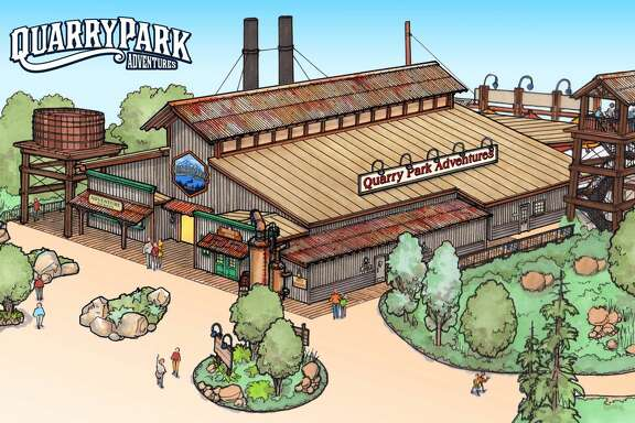 Quarry Park, a new themed attraction opening in Rocklin this year offers zip lines, a ropes course, and rock climbing activities, among other things.