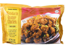 mandarin orange chicken from Trader Joe's