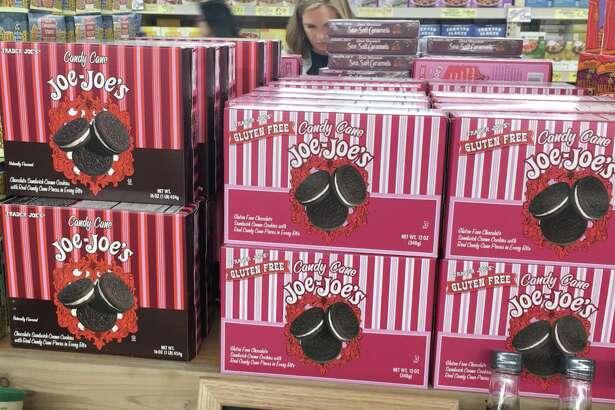 Candy Cane Joe Joe's from Trader Joe's