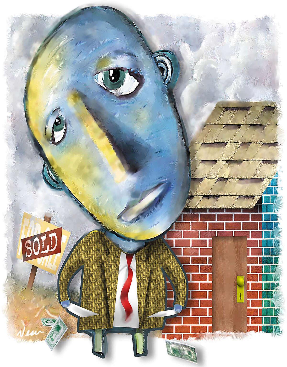 Rick Nease color illustration. Detroit Free Press