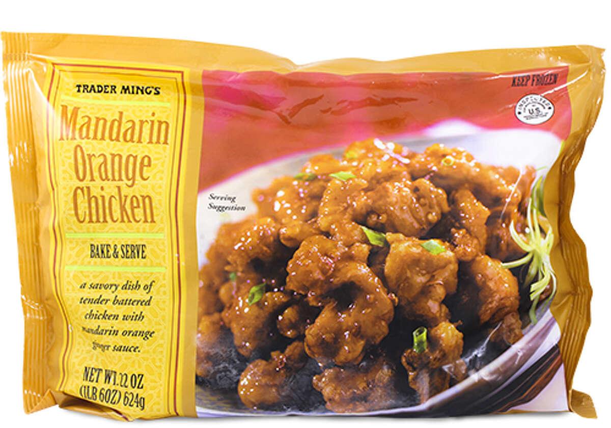 Favorite Entree: Mandarin Orange Chicken