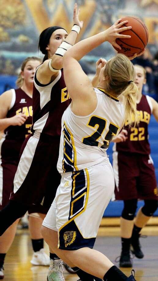 Deckerville at North Huron — Girls Basketball 2018 Photo: Paul P. Adams/Huron Daily Tribune