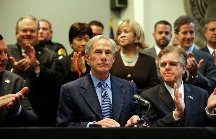 Gov. Greg Abbott, proposing a more transparent tax-cap method for Texas, says the time has come to change the state's antiquated property-tax system.  Photo: Rose Baca, MBR / Rose Baca, The Dallas Morning News