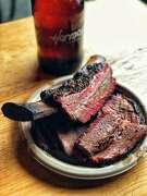Barbecue shots at Native Sons BBQ