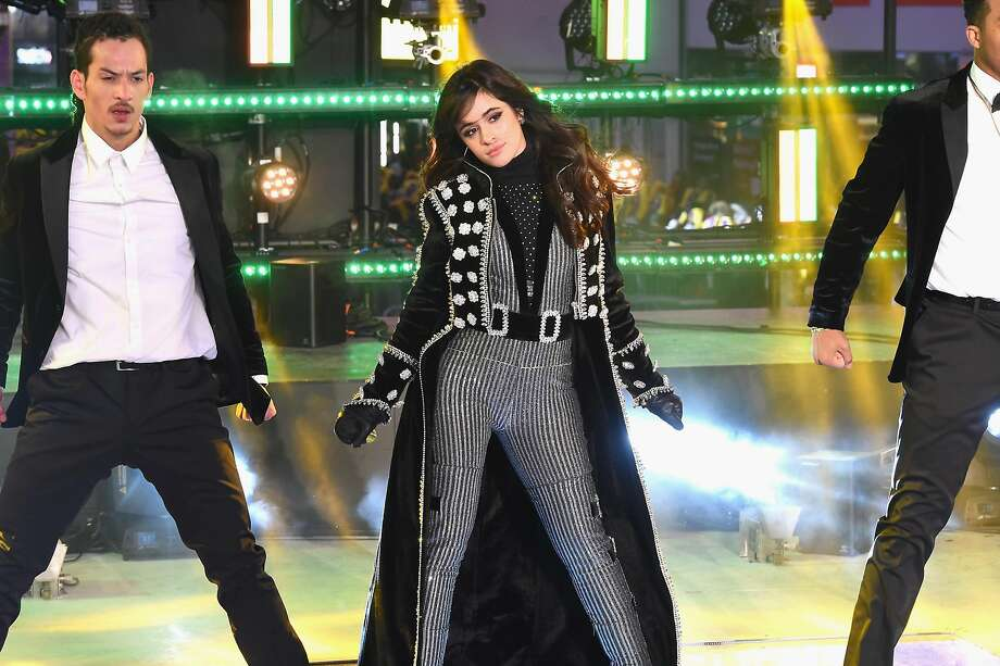 NEW YORK, NY - DECEMBER 31: Camila Cabello performs at the Dick Clark's New Year's Rockin' Eve with Ryan Seacrest 2018 on December 31, 2017 in New York City. (Photo by Nicholas Hunt/Getty Images for dick clark productions) Photo: Nicholas Hunt, Getty Images For Dick Clark Productions