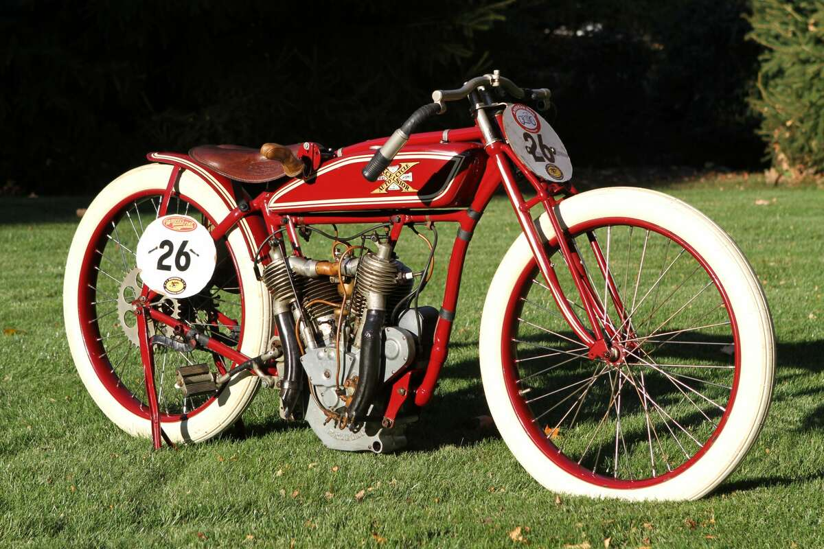 The 1916 Excelsior Boardtrack Racer of Buzz Kanter will be on display at the 2018 Concours d'Elegance.