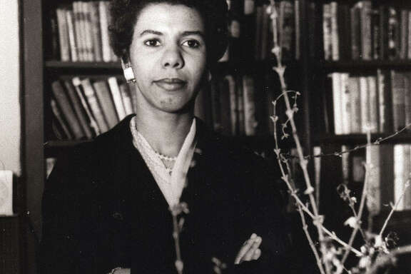 Playwright Lorraine Hansberry (Photo by David Attie)