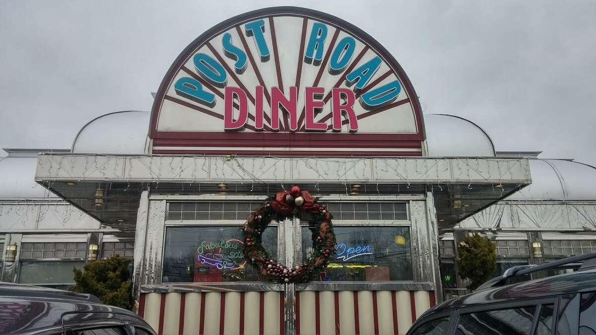 The Post Road Diner.
