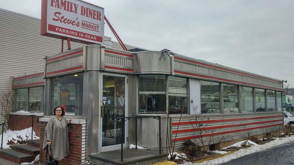 The classic diner look.