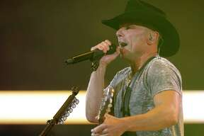 Kenny Chesney performs at RodeoHouston during the Houston Livestock Show and Rodeo in NRG Stadium Monday, March 14, 2016, in Houston.