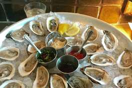 State of Grace offers Murder Point and Wellfleet oysters.