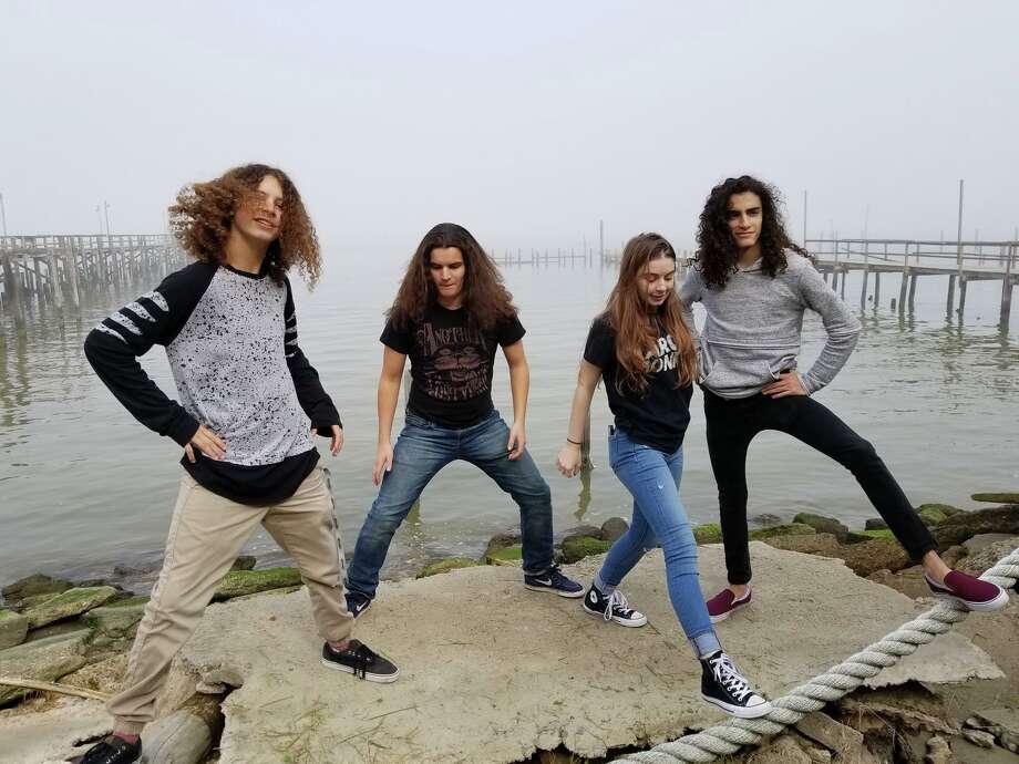 Houston rock band Paperwolf.