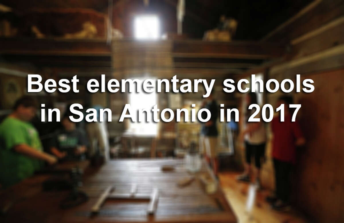 Click ahead to find out the best elementary schools in San Antonio in 2017, according to Children at Risk.