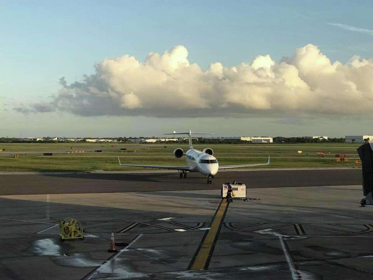 Elite Airways' fleet consists of Canadair regional jets.