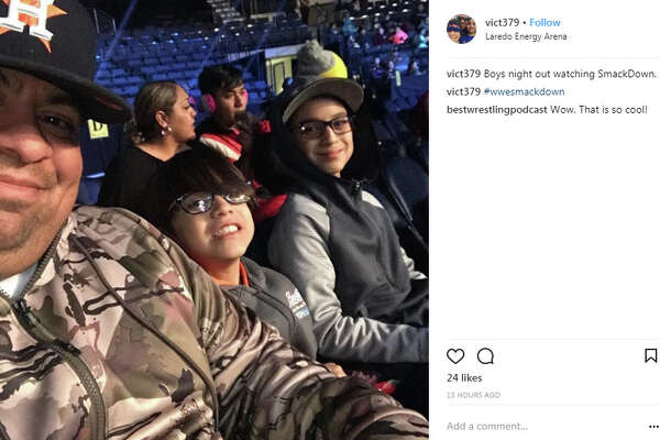 """vict379 : """"Boys night out watching SmackDown"""""""