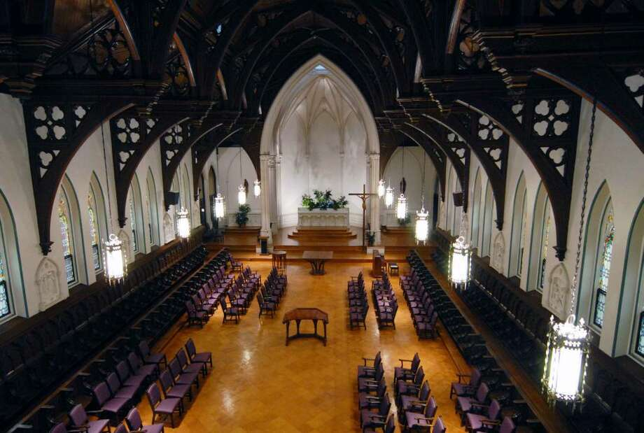 The chapel in the old Doane Stuart campus and Kenwood Convent in Albany. Photo: MICHAEL P. FARRELL / 00006188A