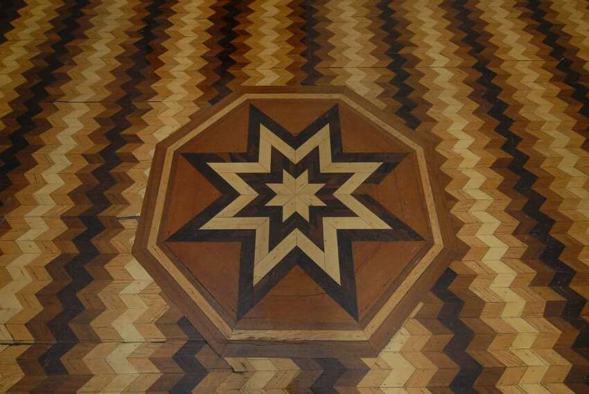 Floor detail in the old Doane Stuart campus and Kenwood Convent in Albany.
