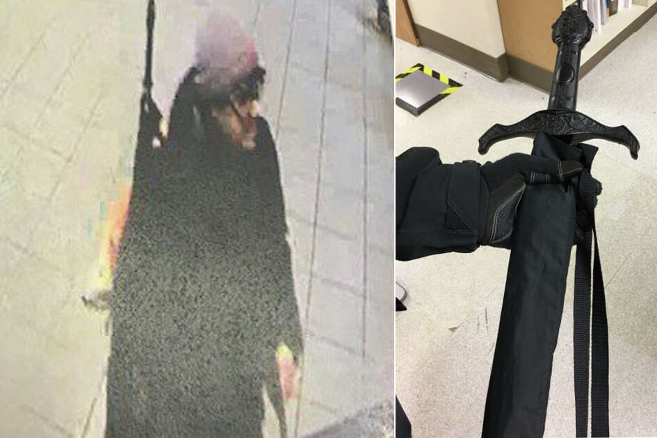 A false alarm saw EvergreenHealth Kirkland locked down Wednesday after a man was spotted inside the medical center with what was initially believed to be a weapon. As it turned out, he was carrying a sword-styled umbrella.