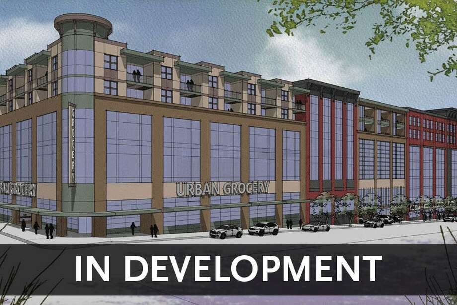 A six-story apartment buildiing and four-story office building will be built on the former site of Bumstead Chevrolet and the Capital District Educational Opportunity Center on Sixth Avenue between Congress and State streets in downtown Troy.