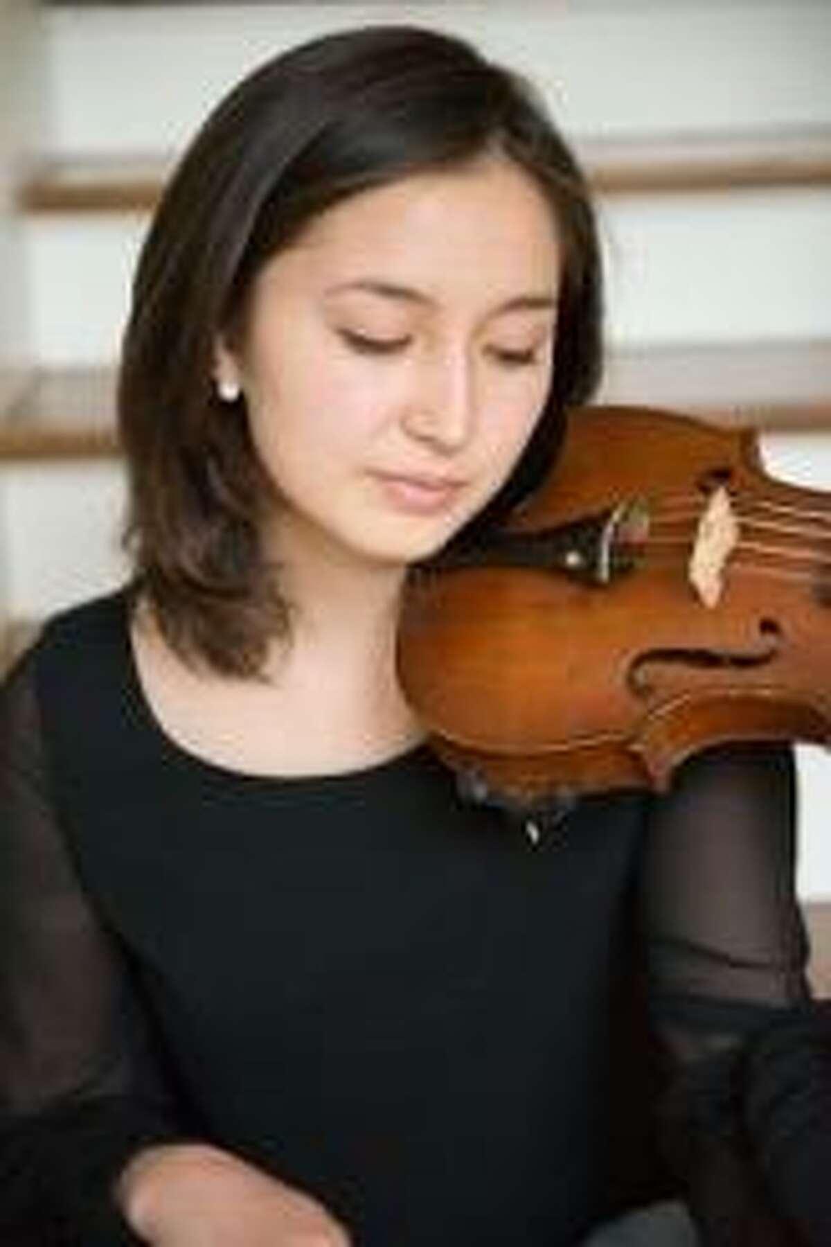 Natalie Hodges, violinist.