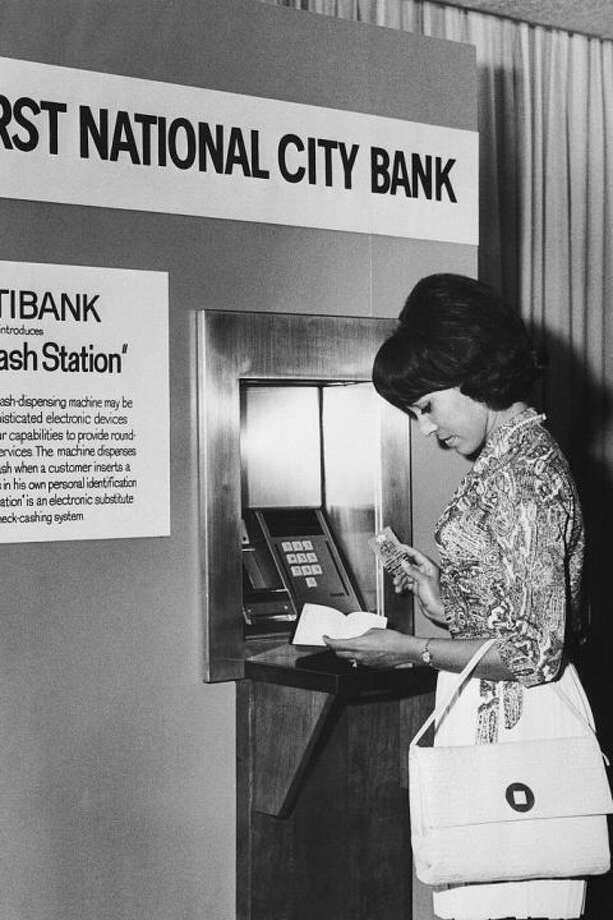 1) Getting cash required a trip to the bank.