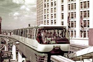 Monorail. Eastman Color Film. [Century 21 / Seattle World's Fair] Date: 1962. Item No: 73122