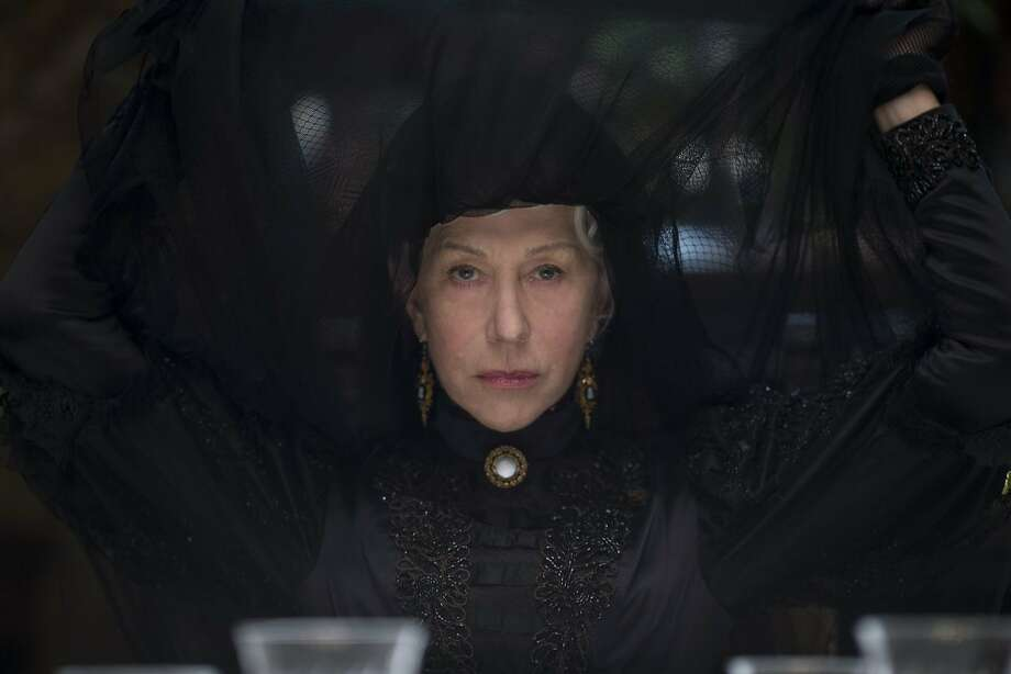 "Helen Mirren as Sarah Winchester in ""Winchester."" Sarah built San Jose's Winchester Mystery House. Photo: Ben King"