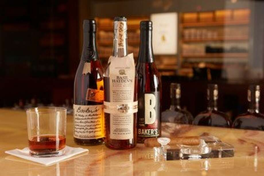 Blend Bar with Davidoff Cigars, a cigar and spirits lounge, will open in The Woodlands on Jan. 20. The first in Texas (there are Blend concepts in Indianapolis, Nashville, and Pittsburgh, the cigar bar offers upscale bourbon and whiskey, food, and premium cigars in a nightclub setting. Photo: Blend Bar