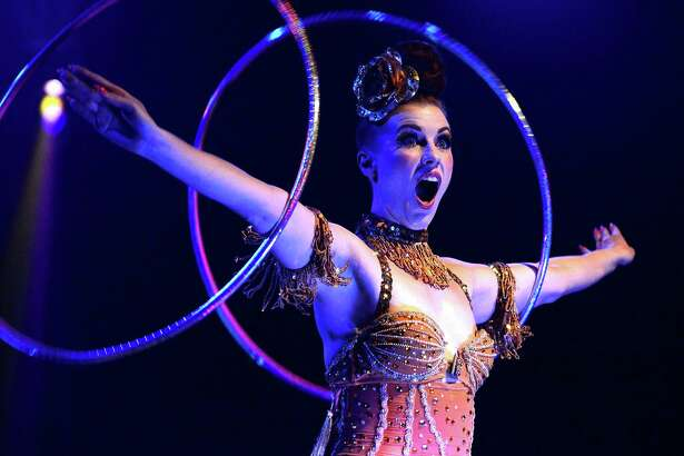 """The Bayou City Burlesque and Circus Arts Festival will feature acrobats, showgirls, trapeze performers and a chorus line of        """"H-Town Clowns."""""""