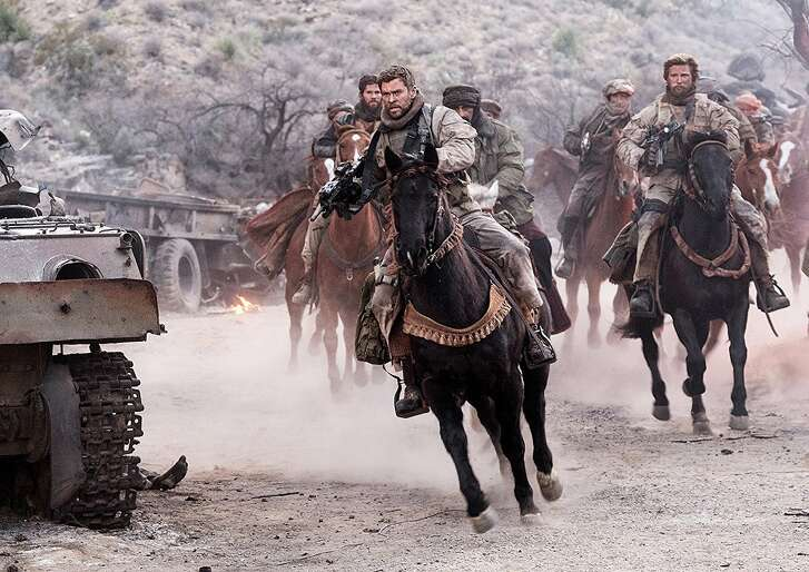 Chris Hemsworth to the rescue in '12 Strong'