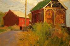 Burnham Library in Bridgewater is presenting an exhibit of works by Susan Grisell of Gaylordsville through January. The library is located on Main Street.
