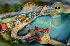 "PIXAR PIER (ANAHEIM, Calif.) –Summer 2018 will bring a transformed land when Pixar Pier opens for guests to experience at Disney California Adventure park, featuring the new Incredicoaster inspired by Disney•Pixar's ""The Incredibles."" This artist concept illustrates the four new neighborhoods that will represent beloved Pixar stories and the newly themed attractions that will be found throughout the permanent land of Pixar Pier. (Disney•Pixar)"