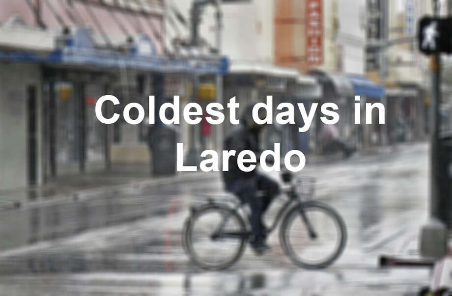 Freezing cold days are a rarity in South Texas, but occasionally Laredoans have had to withstand near single-digit temperatures. These five days are the coldest in Laredo history.  Photo: Laredo Morning Times