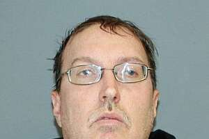 Christopher Galvin, 45, of Torrington, Conn., was charged with forth-degree sexual assault and second-degree harassment. He was released on a $5,000 bond and appeared in court on Wednesday, Jan. 17, 2018.