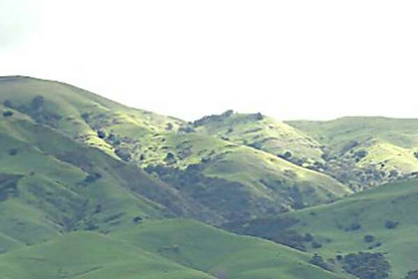 Monument Peak at Ed Levin County Park rises 2,594 feet above Milpitas and Fremont, and provides towering views over the South Bay