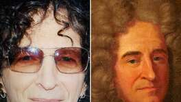 "Google's Arts & Culture app compares your selfies to classic works of art and provides the best match, like this image of Howard Stern compared to ""A Man, called Racine."" That is, unless you live in Texas or Illinois, where the feature isn't available."