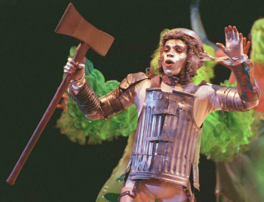 "Anthony Manough played the The Tinman when Theatre Under the Stars staged ""The Wiz"" in 2000. TUTS will bring the production back for its 50th anniversary season. Photo: Kevin Fujii, Houston Chronicle / Houston Chronicle"
