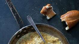 "Oyster Pan Roast from ""Jon Bonnell's Waters Fine Coastal Cuisine"" by Jon Bonnell."