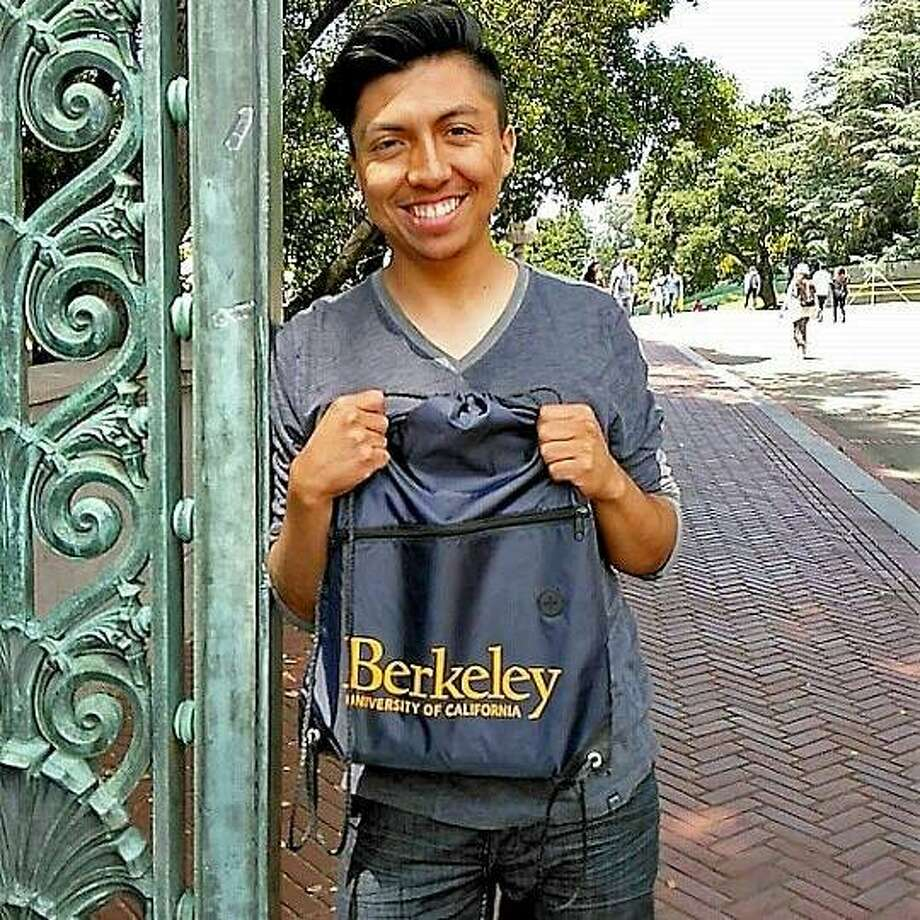 Luis Mora, a UC Berkeley student, was arrested by Customs and Border Patrol at an immigration checkpoint in San Diego County while driving home with his girlfriend over the holidays. A judge ordered him released on bond Wednesday after a short hearing. Photo: Prerna Lal