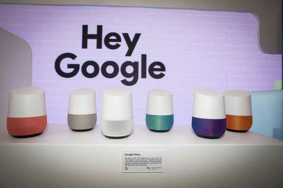 Google's Home smart speakers can interpret users' voice commands, but the tech giant also sells artificial intelligence systems businesses can use develop AI tailored to their needs.