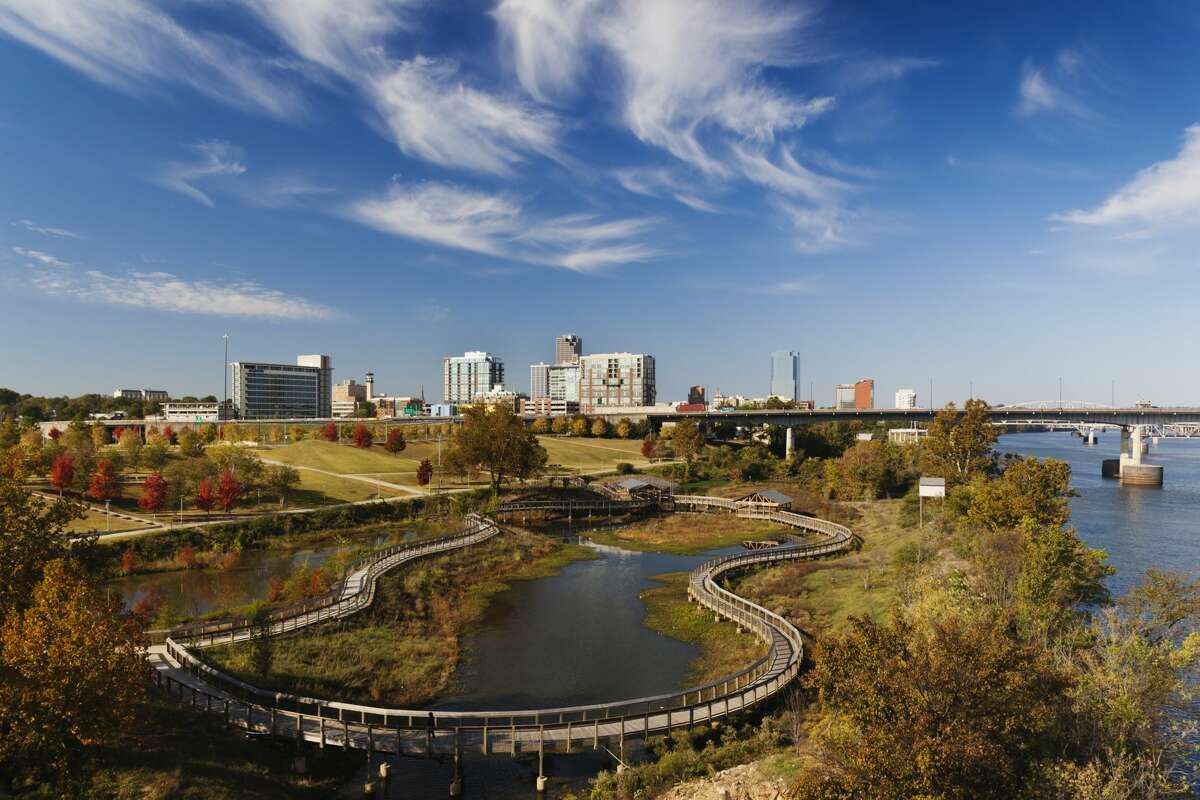 9. Little Rock, AR Median price per square foot for large homes: $110.90 Median list price on homes over 3,000 square feet: $419,900 Share of homes over 3,000 square feet: 16.4%