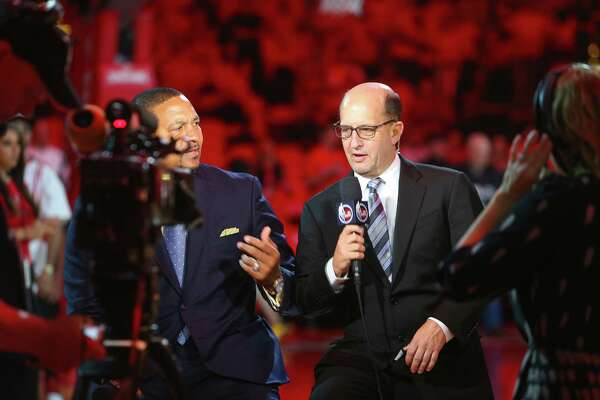 ESPN's Jeff Van Gundy, who'll call Saturday's Rockets-Warriors game on ABC, says he expects Houston to get to the Western Conference finals if the roster stays healthy.