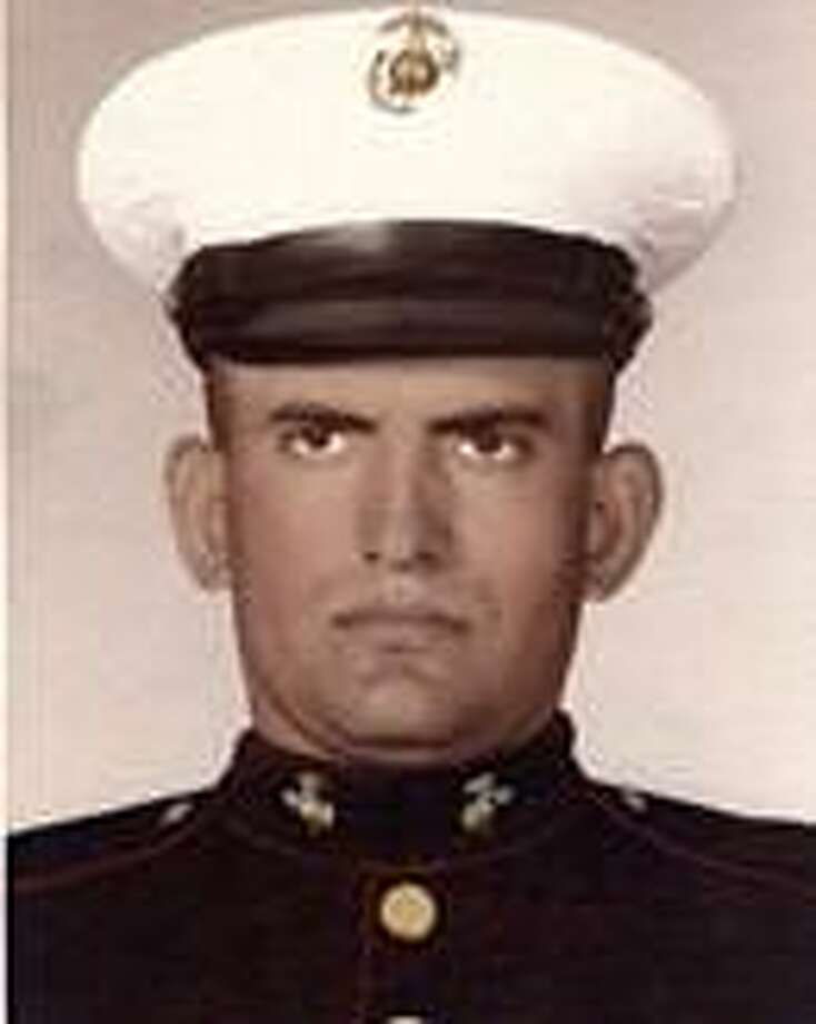 David H. Gonzalez Sr. followed in his brother's footsteps and enlisted in the Marine Corps in 1967. Photo: Courtesy Photo