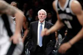 The Spurs family and the NBA are in mourning after the wife of coach Gregg Popovich died Wednesday after a lengthy battle with a respiratory illness. It is uncertain whether Popovich will coach Thursday night in Game 3 of the Spurs' first-round playoff series with the Golden State Warriors.