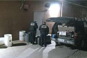 Houston police caught two men breaking into the El Zorro nightclub in Sharpstown late Wednesday.