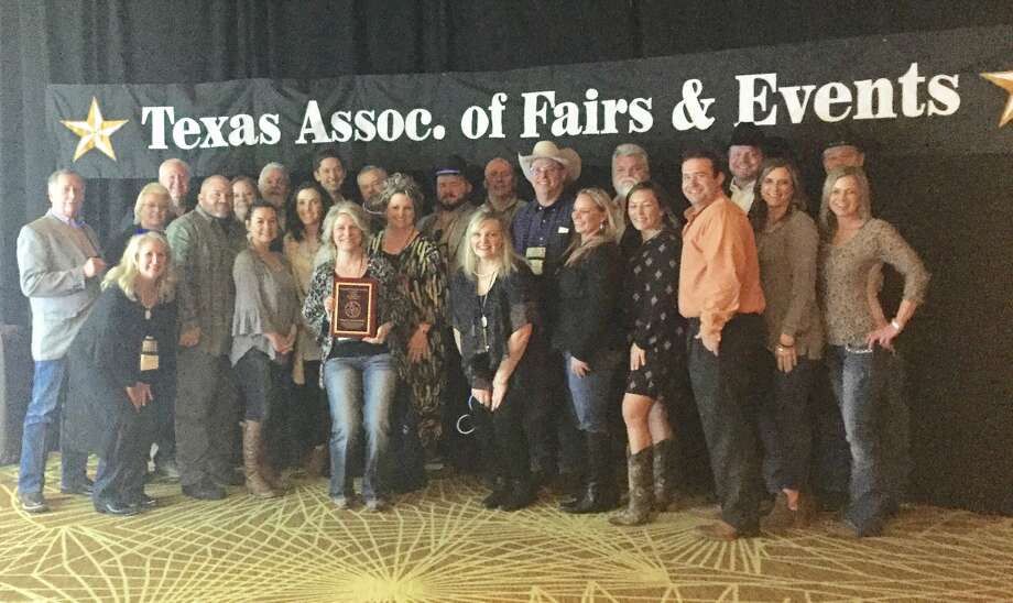 Twenty six members of the Montgomery County Fair Association were on hand at the Texas Association of Fairs and Events convention Jan. 5-7 in San Antonio. The Montgomery County Fair Association was named Best Overall in the 50,000 to 100,000 category.